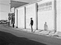 inessa waits near south 9th street, modesto, ca by katy grannan