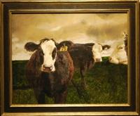 cows by jamie wyeth