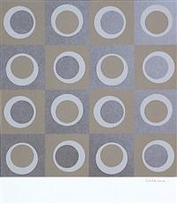 ohne titel (aus domberger siebdruck-kalender) by francisco sobrino