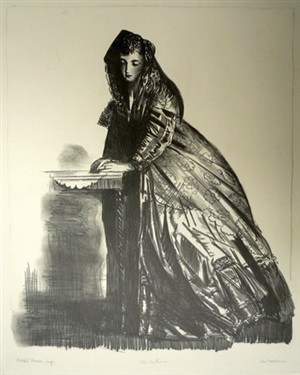 the actress by george wesley bellows
