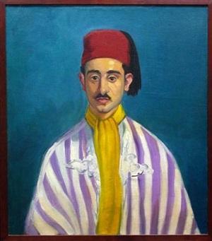 oriental man by macena alberta barton
