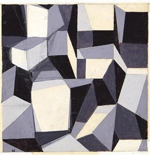 asimmetria cristallografica n. 4 by mario ballocco
