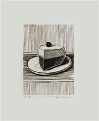 slice of pie by wayne thiebaud