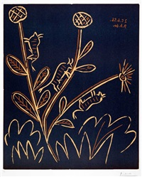 plante (plant) by pablo picasso