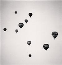 ten balloons, albuquerque, new mexico, usa by michael kenna