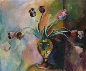 tulips by arthur beecher carles