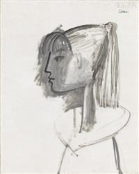 portrait de sylvette by pablo picasso