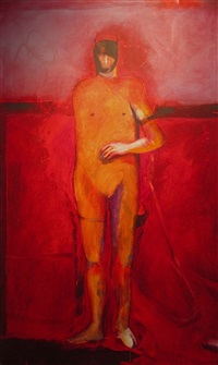 alone no. 2 by fritz scholder