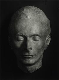 death mask of erich sander by august sander