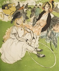 autre temps: 1830 (earlier times: 1830) by jacques villon