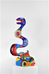 serpent yin yang by niki de saint phalle