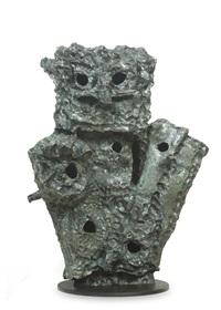 hibou-nid by jean paul riopelle