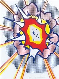 explosion by roy lichtenstein