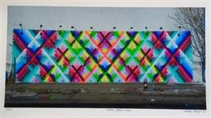 chem trails (bowery wall) nyc by maya hayuk