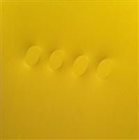 quattro ovali gialli by turi simeti