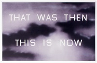 that was then this is now by ed ruscha