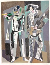 commedia dell'arte by gino severini
