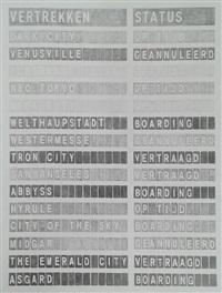 departures (dark city, dutch) by alicia framis