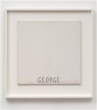 portrait non fait: george brecht by robert filliou