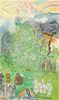 la fee electricite (x) by raoul dufy