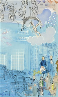 la fee electricite (vi) by raoul dufy