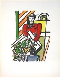 la marchande des quatre saisons (the merchant of four seasons) by fernand léger