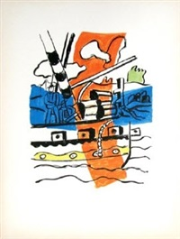 le remorqueur (the tug) by fernand léger