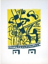 les marins (the sailors) by fernand léger