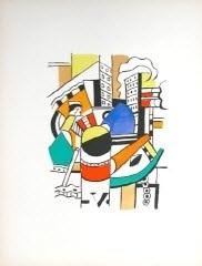 le remorqueur dans la ville (the tug in the city) by fernand léger