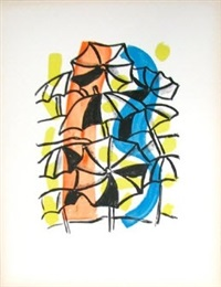les parapluies (unbrellas) by fernand léger