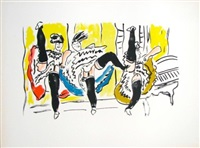 le french cancan by fernand léger
