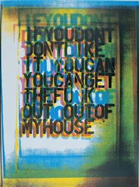 my house iii by christopher wool