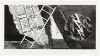 wind and lightning by james rosenquist
