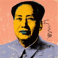 mao (ii.92) by andy warhol