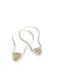 light bulb earrings by michael craig-martin