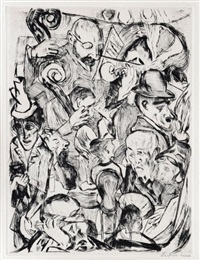 cafe music by max beckmann