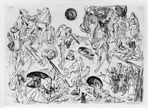 resurrection by max beckmann