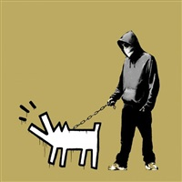 choose your weapon - khaki by banksy