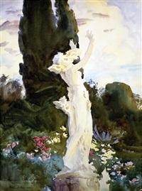 daphne (summer fantasy) by john singer sargent