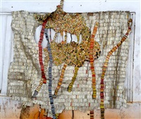 strained roots by el anatsui