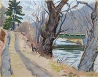 path along flatbrook by joseph fiore
