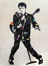 elvis by mr. brainwash