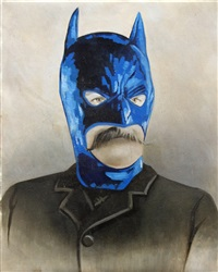 bat papi by mr. brainwash