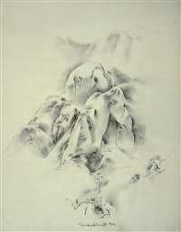reverie by stanton macdonald-wright