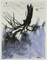 blauer baum - p.m. by georg baselitz
