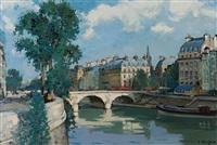 le pont saint michel by constantine kluge