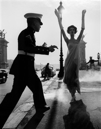 pont alexander iii, paris by william klein