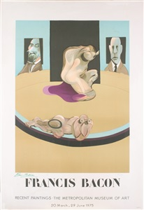 rare posters- from the 1950s to date by francis bacon