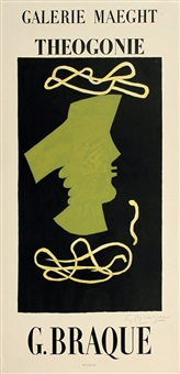lot: 293 theogonie, signed by georges braque