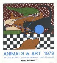 lot: 24 animals & art, signed by will barnet